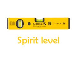 spirit level