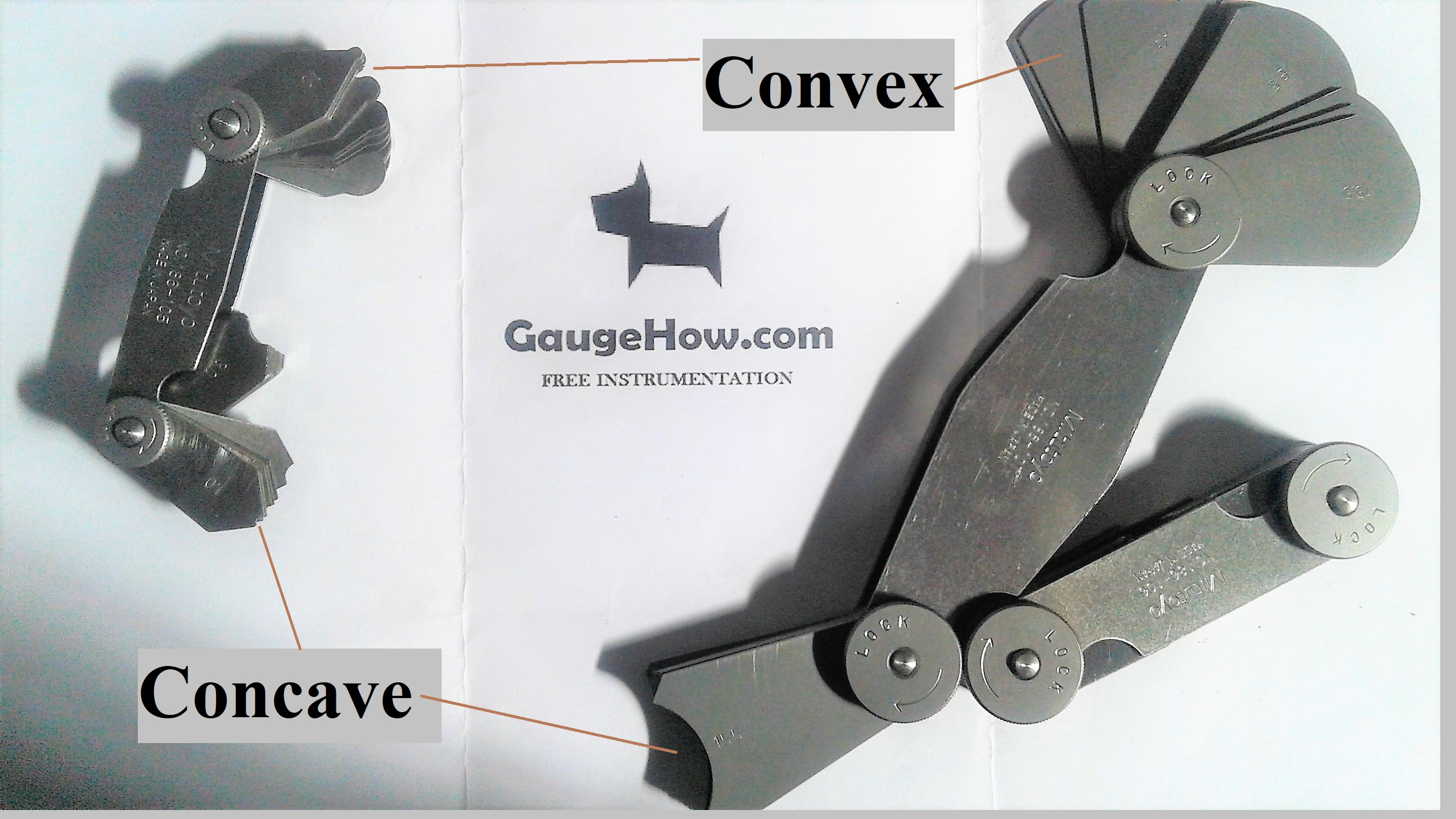 concave and convex shape