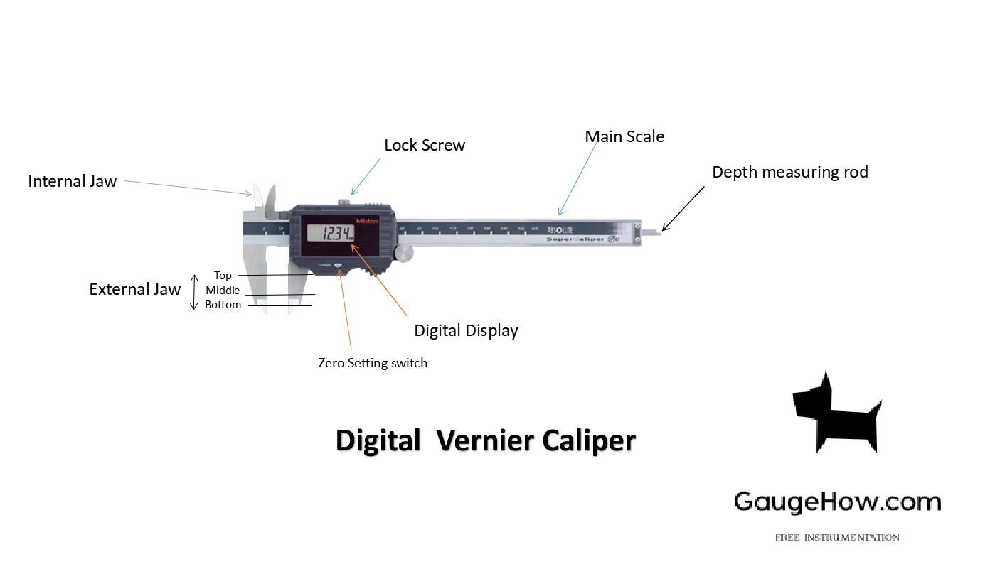 Slide Caliper Internal /& External Precision Measuring etc High Quality Vernier