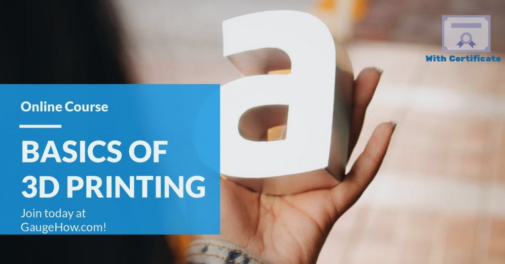 3d prining online course