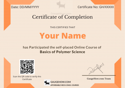 polymer science certificate course