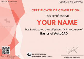 free online course of AutoCAD