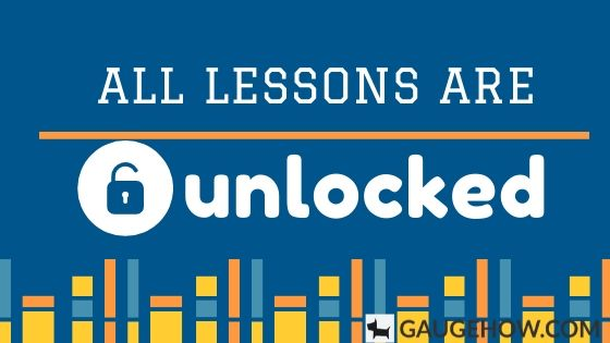 unlocked course lessons