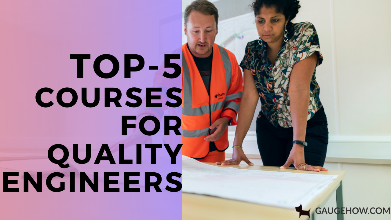 top-5 quality engineering courses